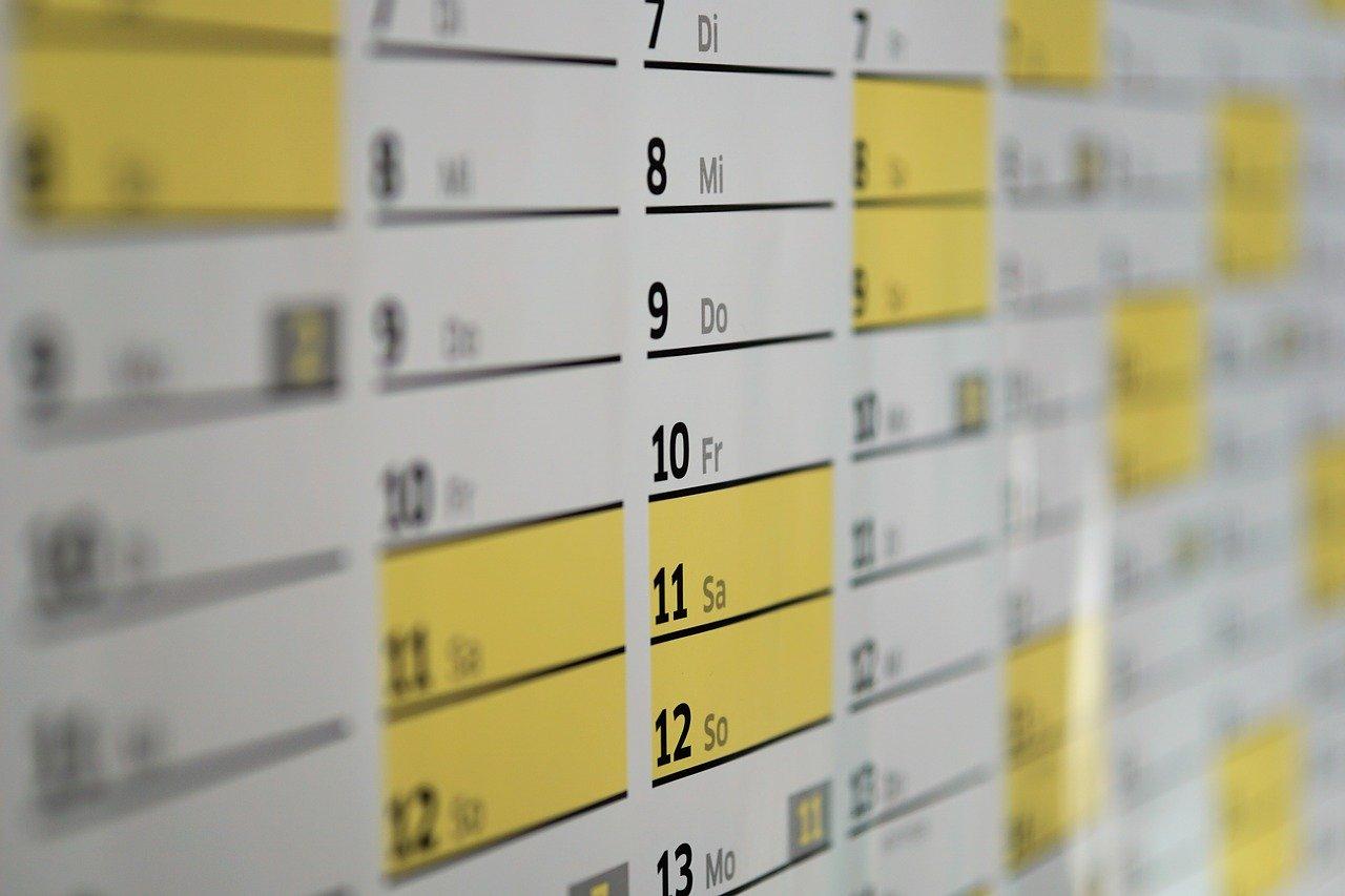FCI sospensione calendario di Giugno